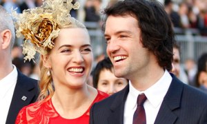 Kate Winslet's wedding hat