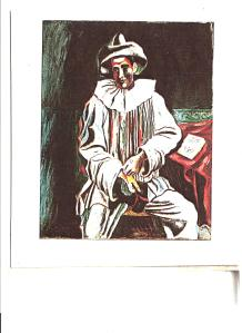 Picasso, Seated Pierrot, 1918