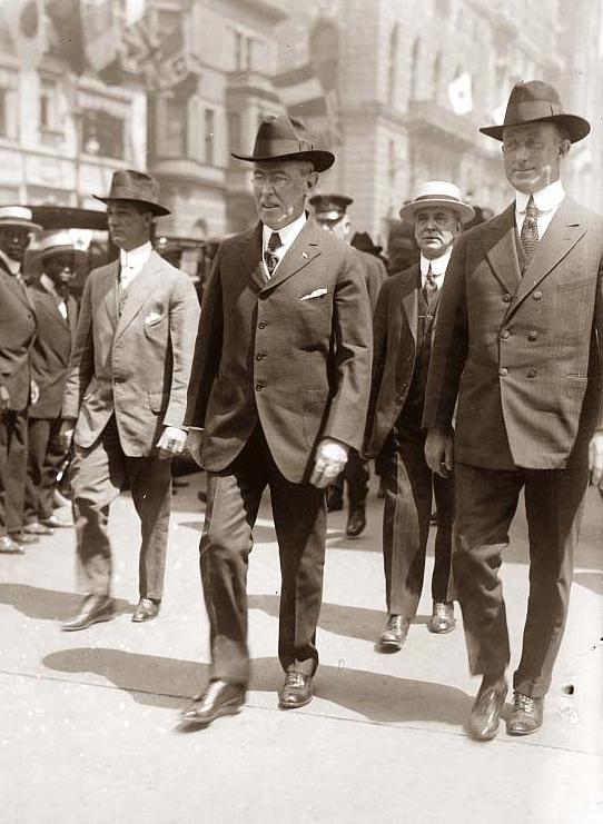 the foreign affairs of woodrow wilson during his term as the president of the united states During his second term the nineteenth amendment to the us constitution,  of  legislative policy, and virtually sovereign in the conduct of foreign relations   wilson was the only president since andrew jackson to have a foreign-born  parent.