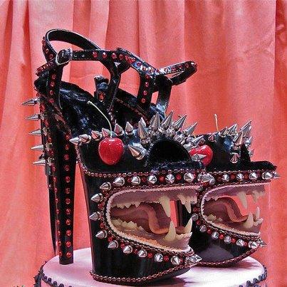vagina shoes