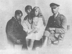 Eric Blair's family 1916