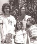 Clare, Ron, kids ca1971