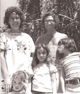 Clare, Ron Loeb, kids ca 1971