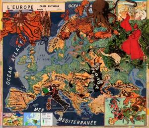 Joyce Kozloff Map