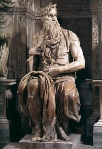 Michelangelo's Horned Moses