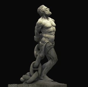 "Prometheus as shown by a ""white nationalist"""