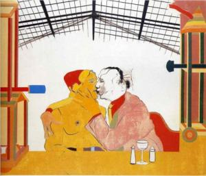 Kitaj: Where the railroad meets the sea