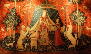 old tapestry