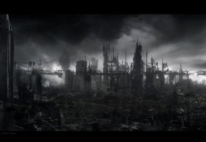 Oil refinery as The End