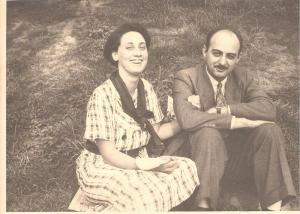 Charles and Betty Spark mid-1930s