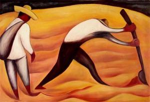 Diego Rivera peasants