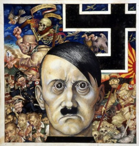Hitler's devil face