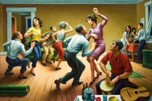 Thos. Hart Benton: The Twist