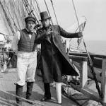 Ahab and Starbuck as imagined by John Huston and Ray Bradbury