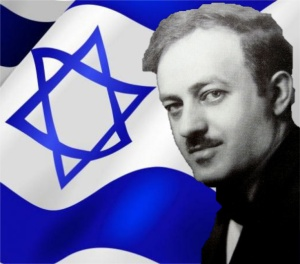 Ben Hecht as depicted on anti-Zionist website