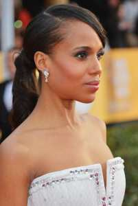 "Kerry W in ""Olivia Pope"" mode"