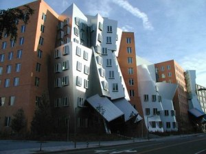 Frank Gehry's Stata Center, MIT