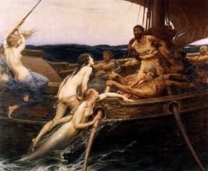 Draper: Ulysses and the Sirens (1909)