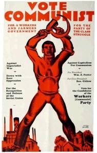 Hugo Gellert poster, 1924