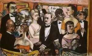 Beckmann, Paris Gesellschaft 1931