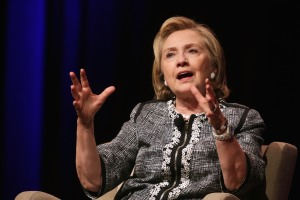 Hillary Clinton Discusses Her New Book In Washington, DC