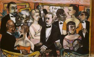 Max Beckmann paints Paris 1931
