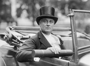 FDR in top  hat: NBC News
