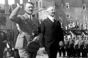 Hitler and Schacht 1934