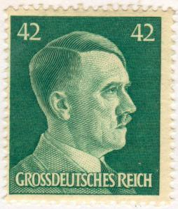 1944 Hitler Stamp