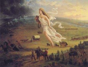 John Gast: American Progress, 1872