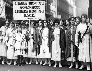 Suffragettes, NYT, 1921