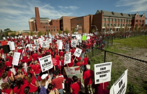 9/12/2012 West Chicago teachers' strike