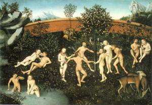 The Golden Age, Lucas Cranach the Elder, 1530