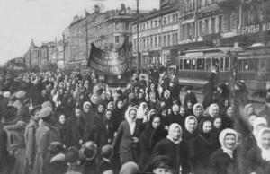 Women's March on Duma, February Revolution 1917