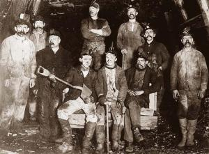 West Virginia coal miners, 1907