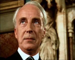 Ian Richardson as PBS villain (1990)