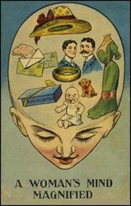 anti-suffrage postcard 1906