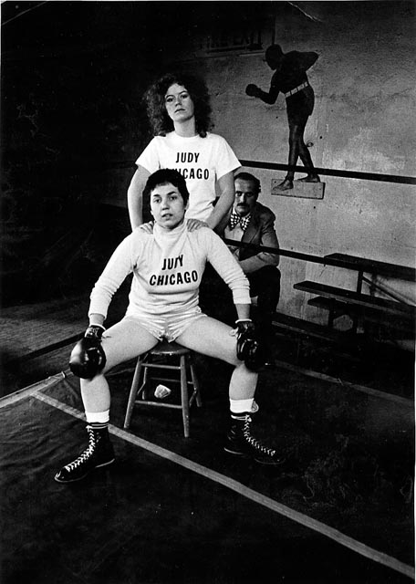 Judy Chicago Boxer