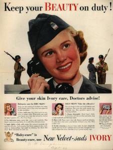Ivory soap ad, 1940s