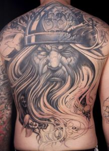 Viking gods tattoos