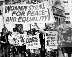 Women's Strike for Peace, NYC 1969. Getty Images