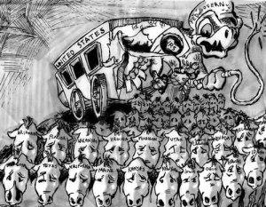 cartoon from History4Kim