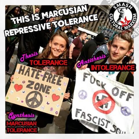 repressive tolerance.