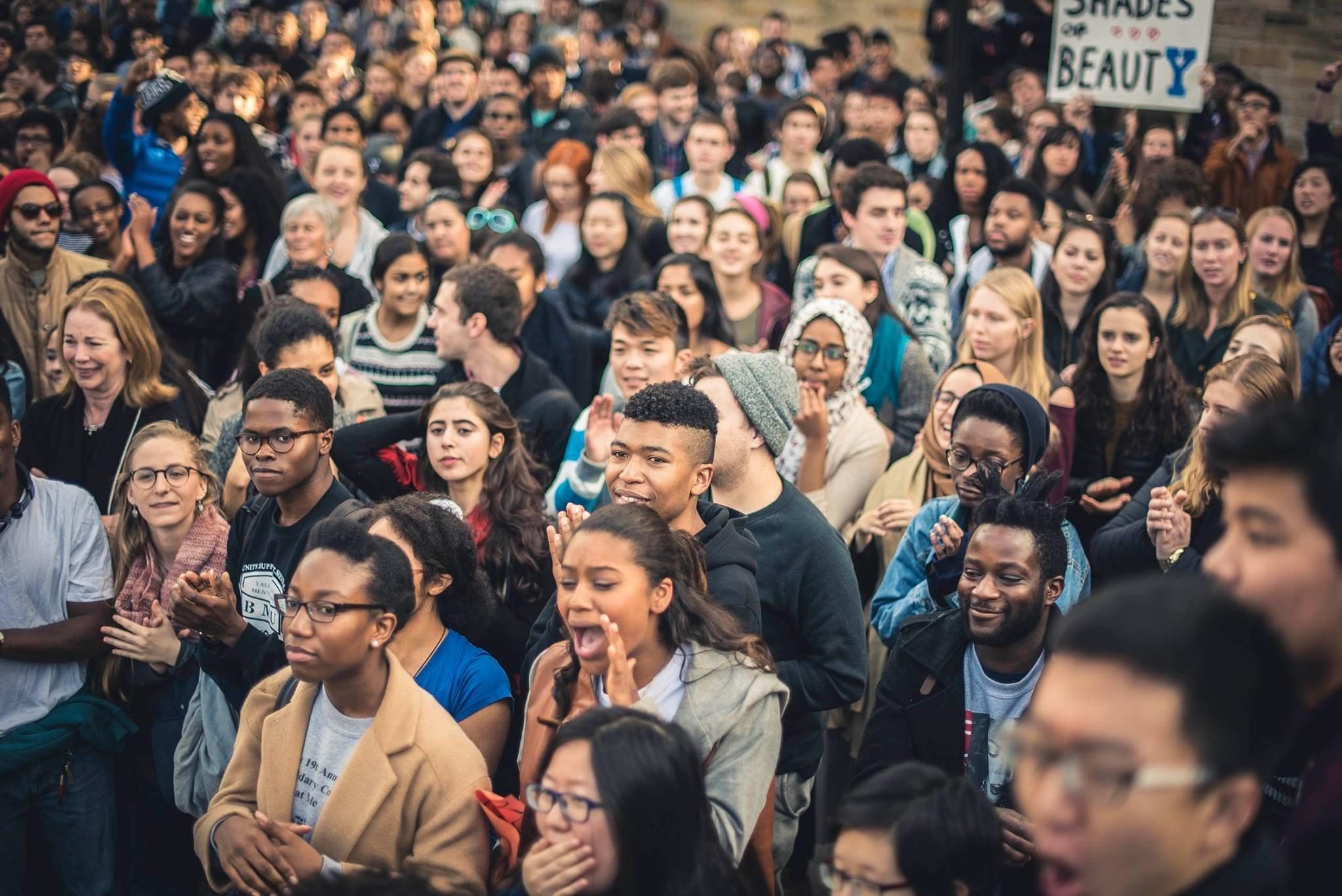Studentprotest Yale